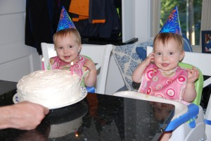 The birthday girls (Lydia on the left)!