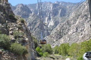 Palm Springs Aerial Tramway up the San Jacinto Mountains