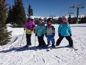 Lots of great skiing with cousins!