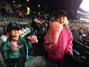 Mariners!  (Lydia and Hadley)